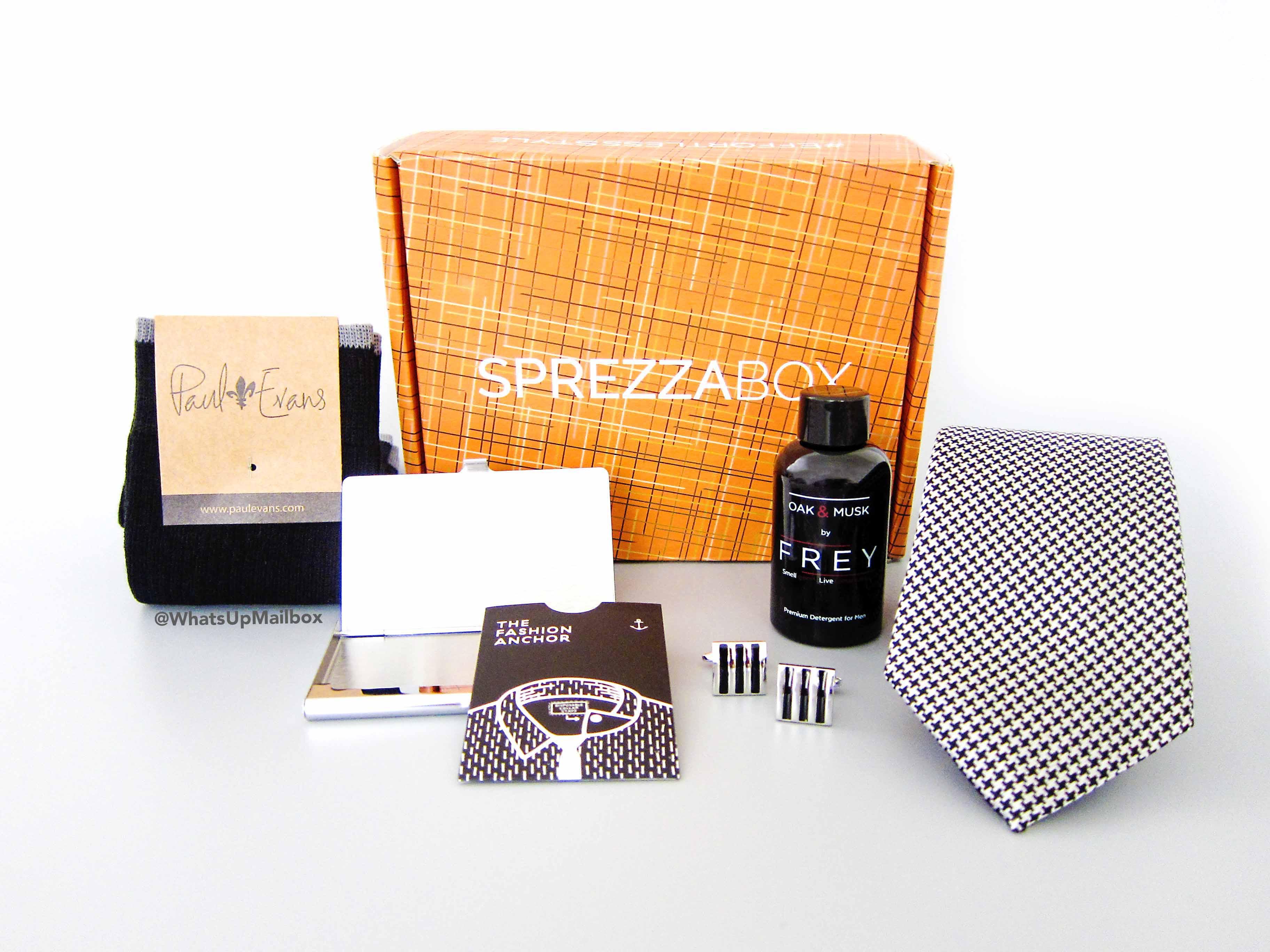 Sprezza Box October 2016 Items