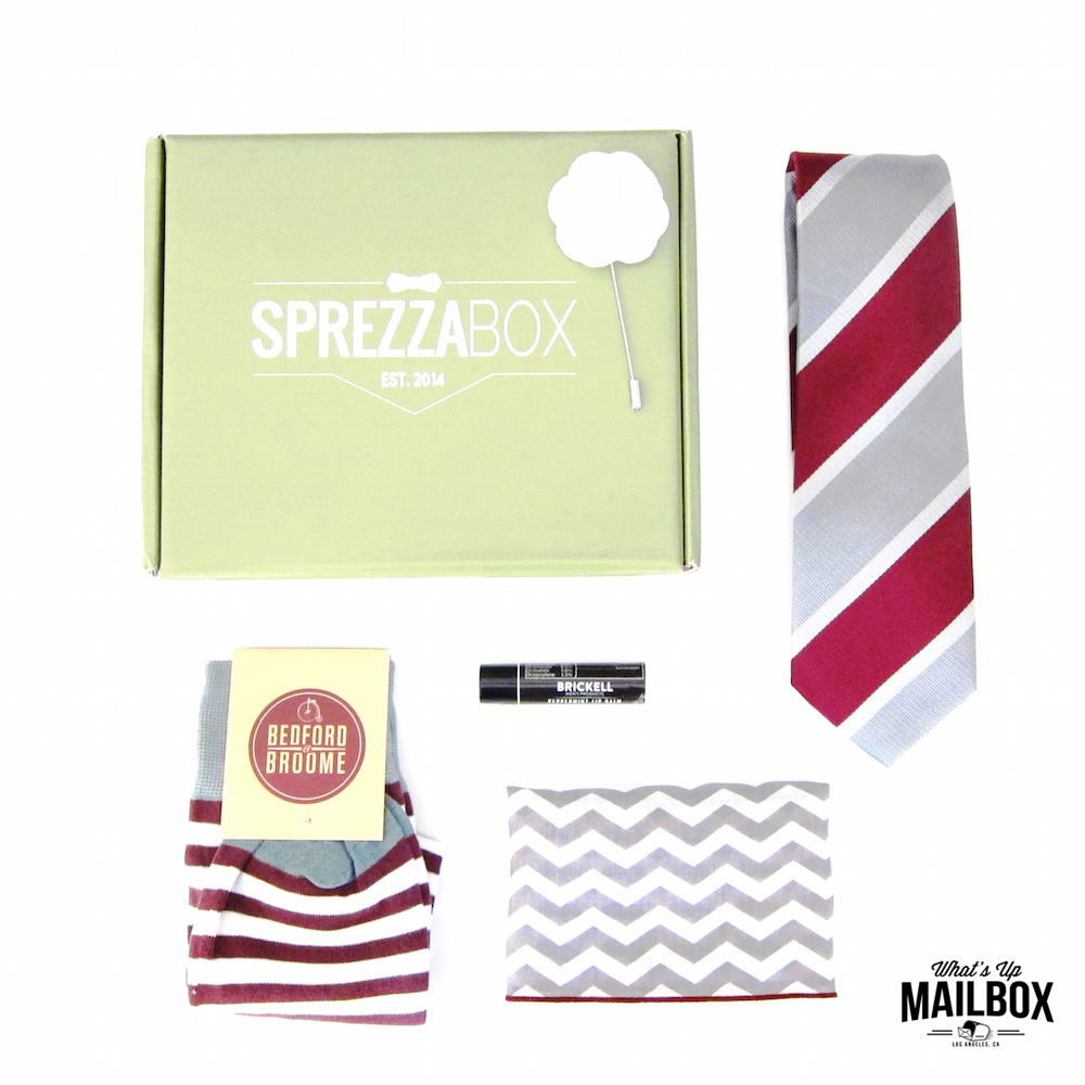 Sprezza Box September 2015 Items