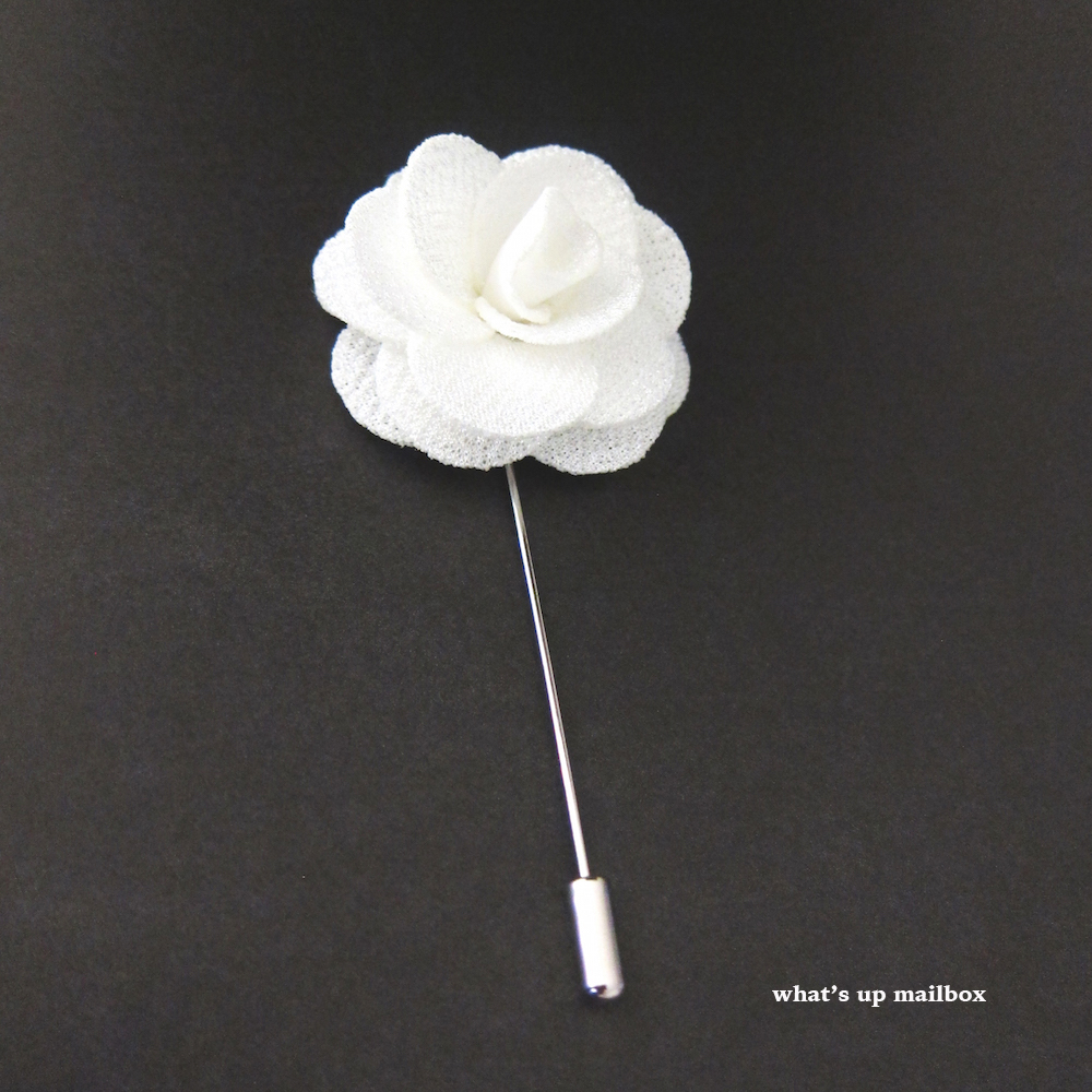 Dappered Man Specialty Lapel Flower