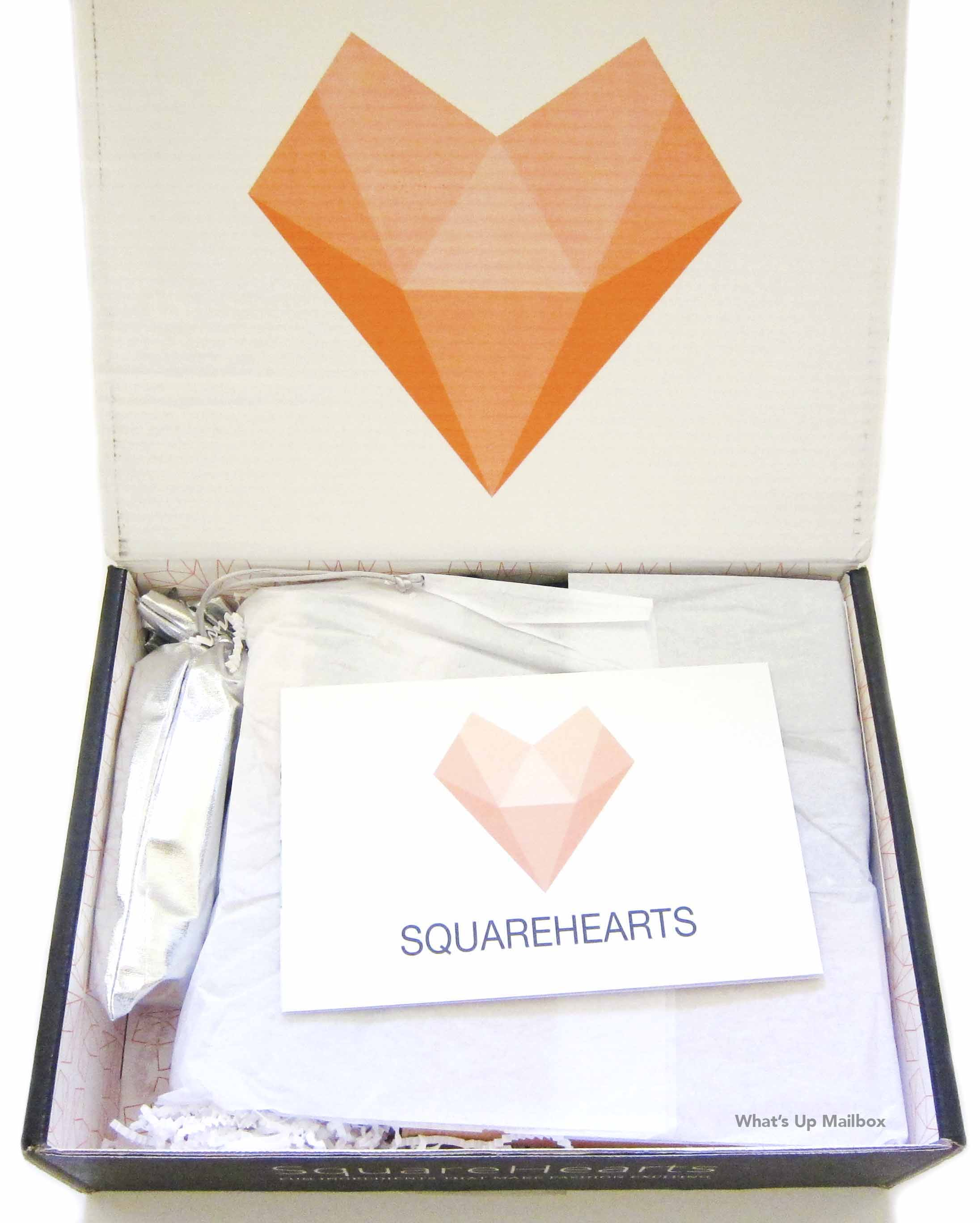 Square Hearts June 2016 Open Box