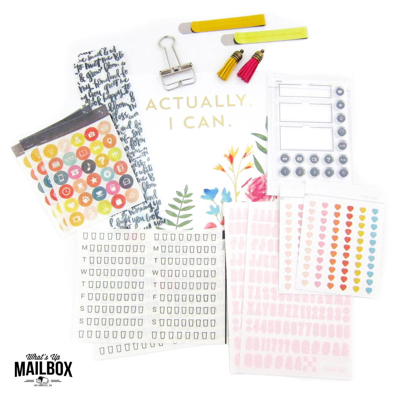 Studio Calico Planner Kit April 2016 Review!
