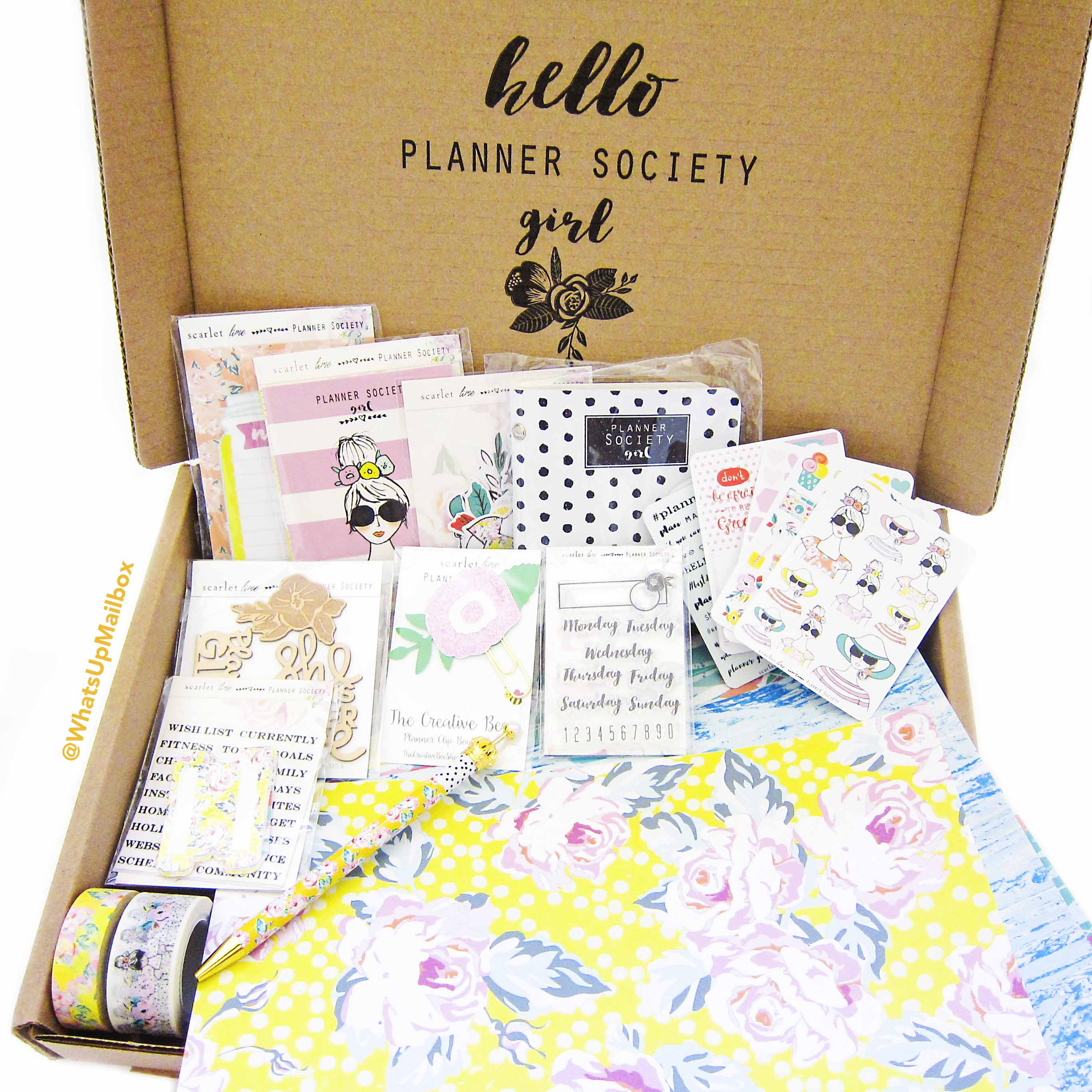 The Planner Society July 2016 Items