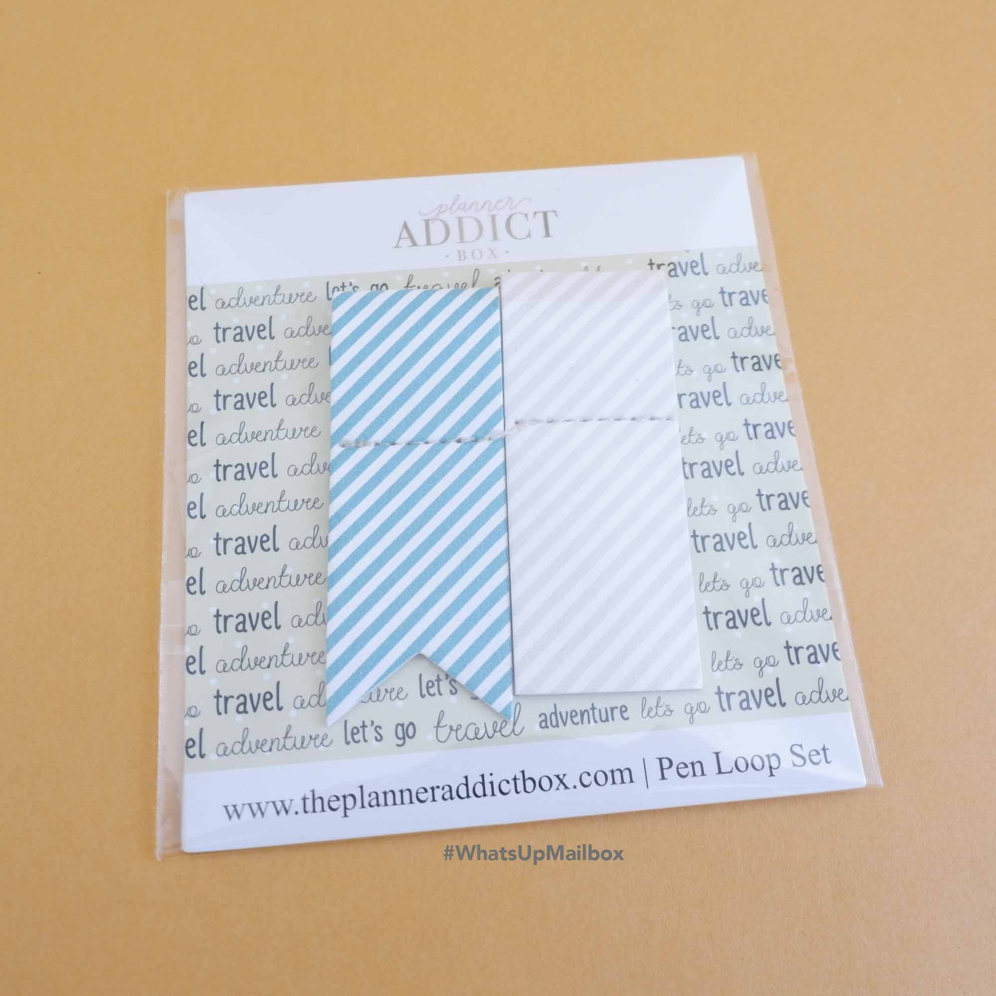 The Planner Addict Box - Pen Loop Set