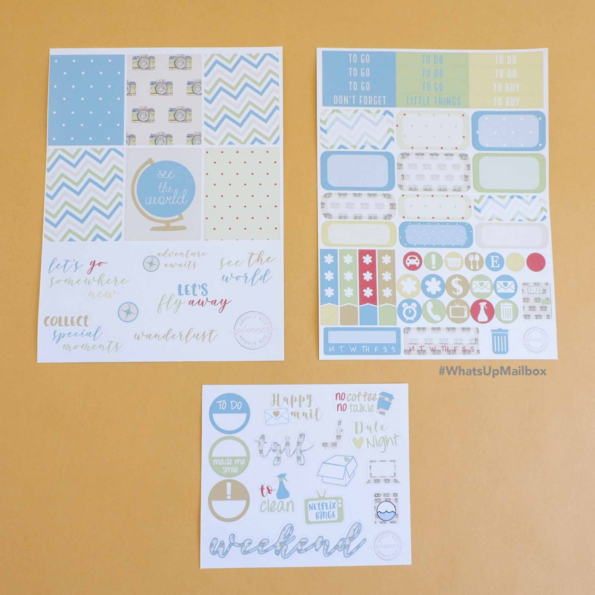 The Planner Addict Box - Sticker Mini Kit
