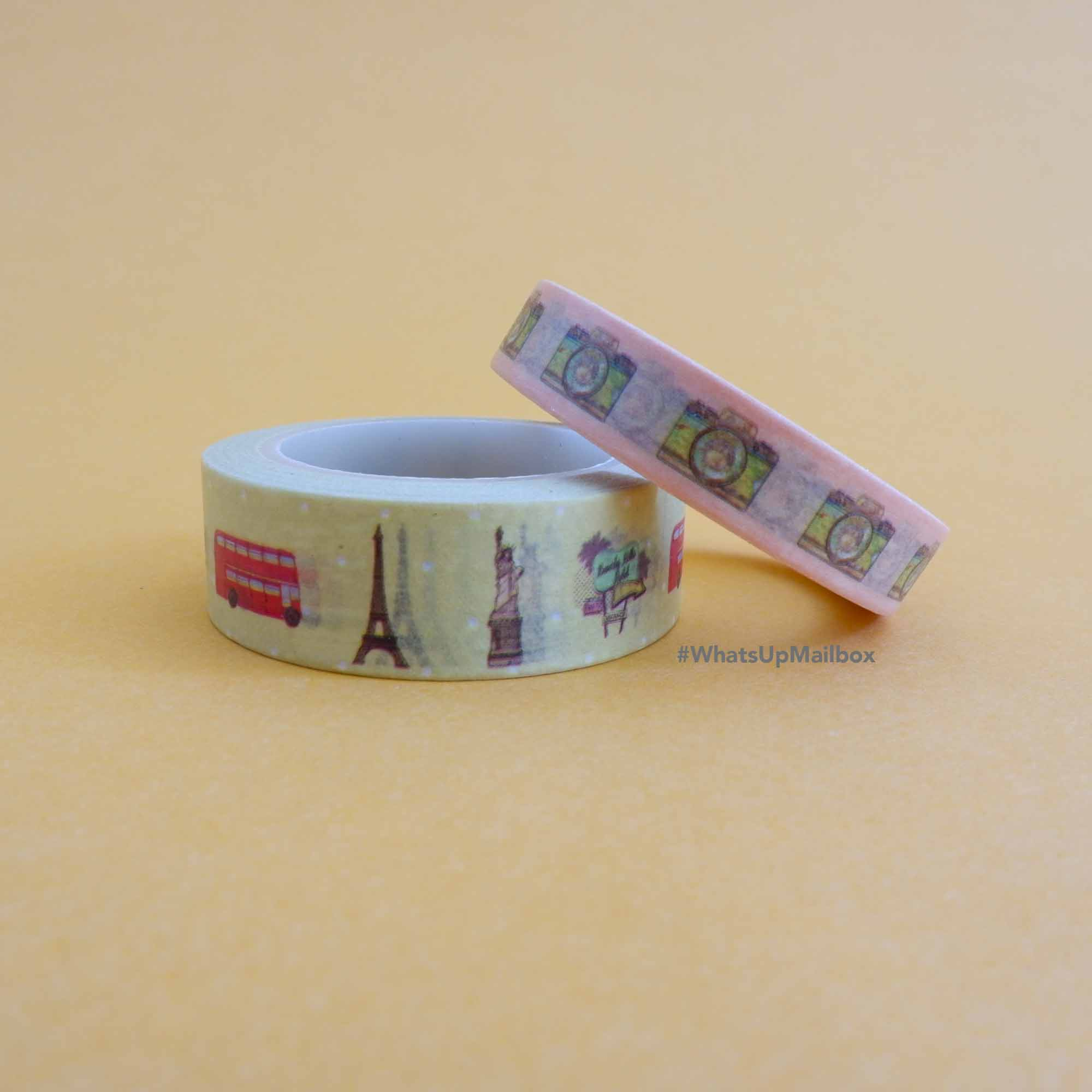The Planner Addict Box - Travel Washi Tapes
