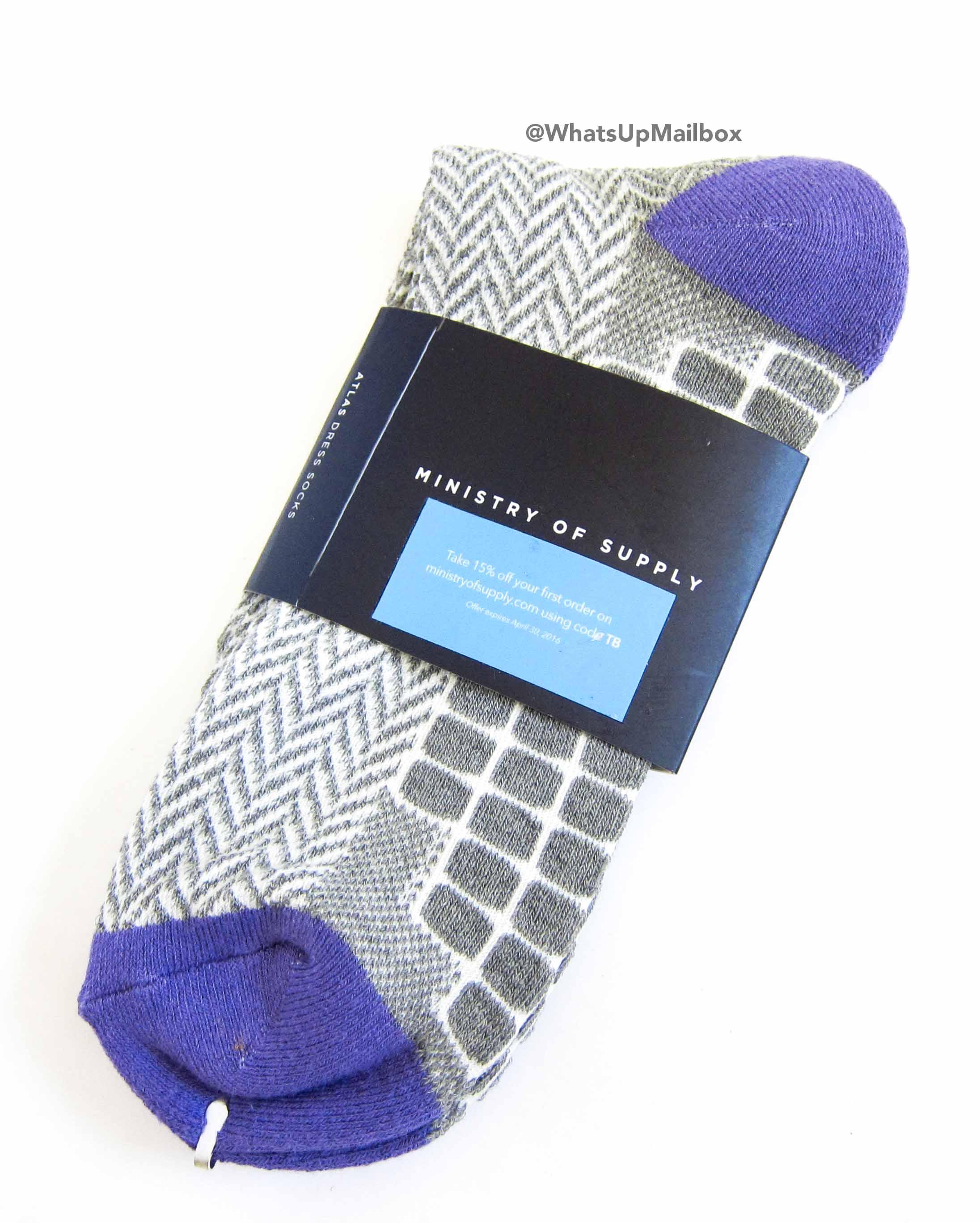 Trendy Butler - Ministry of Supply Socks