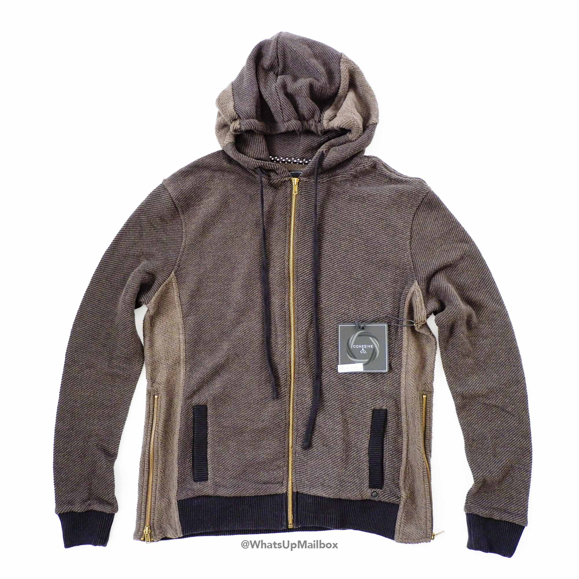 Trendy Butler - Cohesive & Co. Malo Zip Front Hoodie Army Sweater