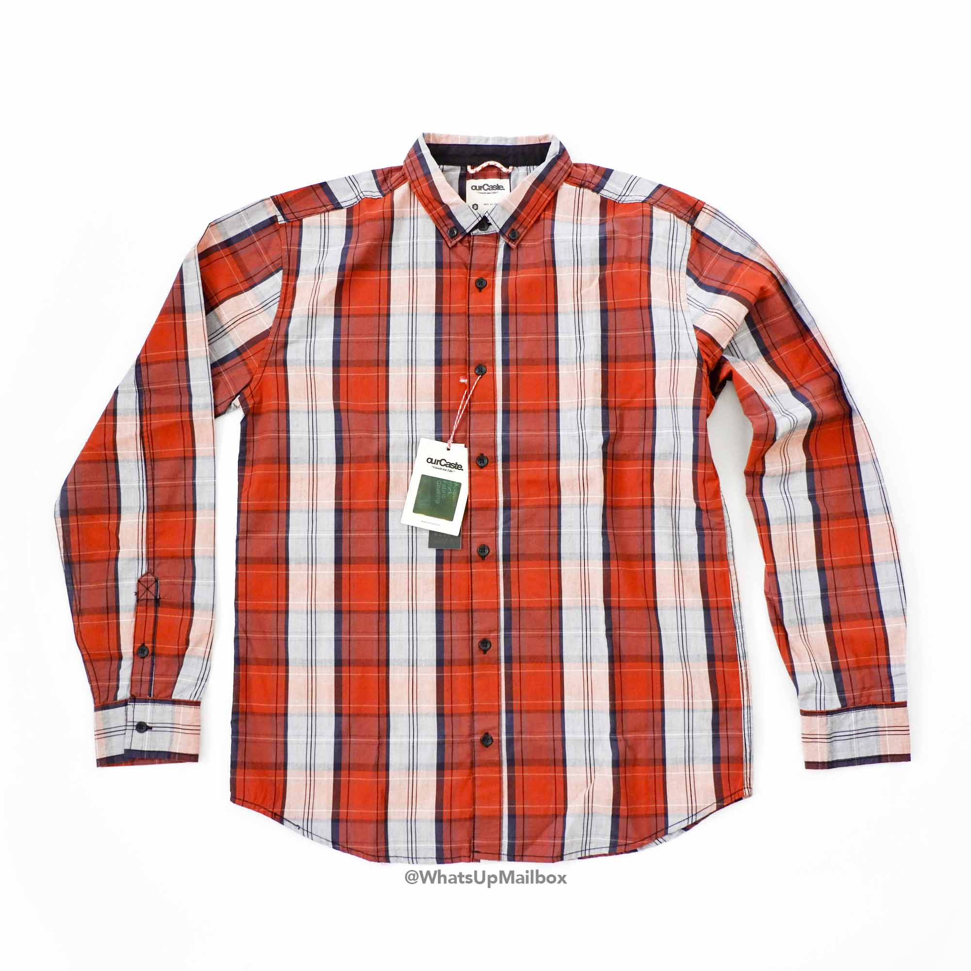 Trendy Butler - ourCaste Kevin Long Sleeve Plaid Button Up Shirt