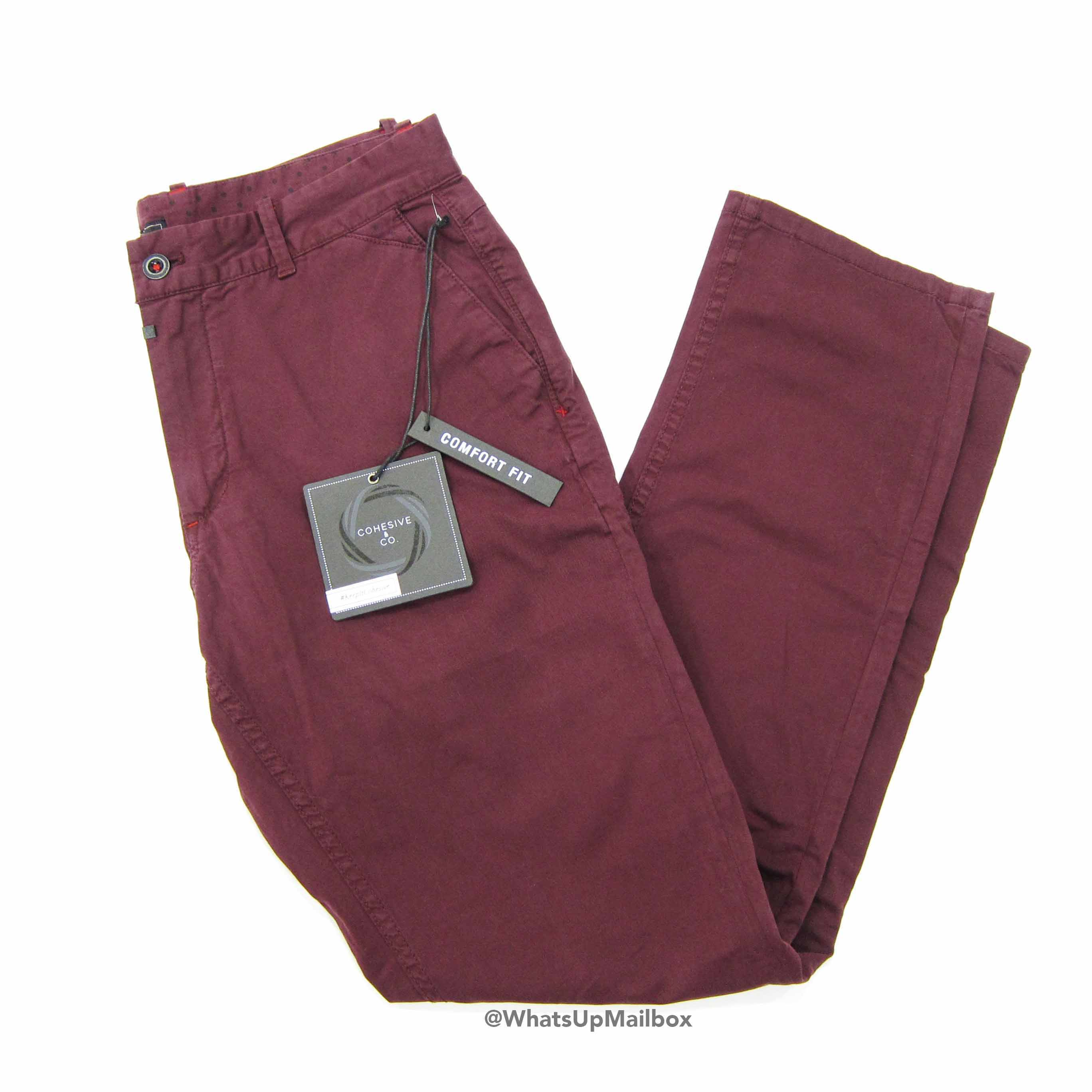 Cohesive & Co. - Bono Pant in Burgundy