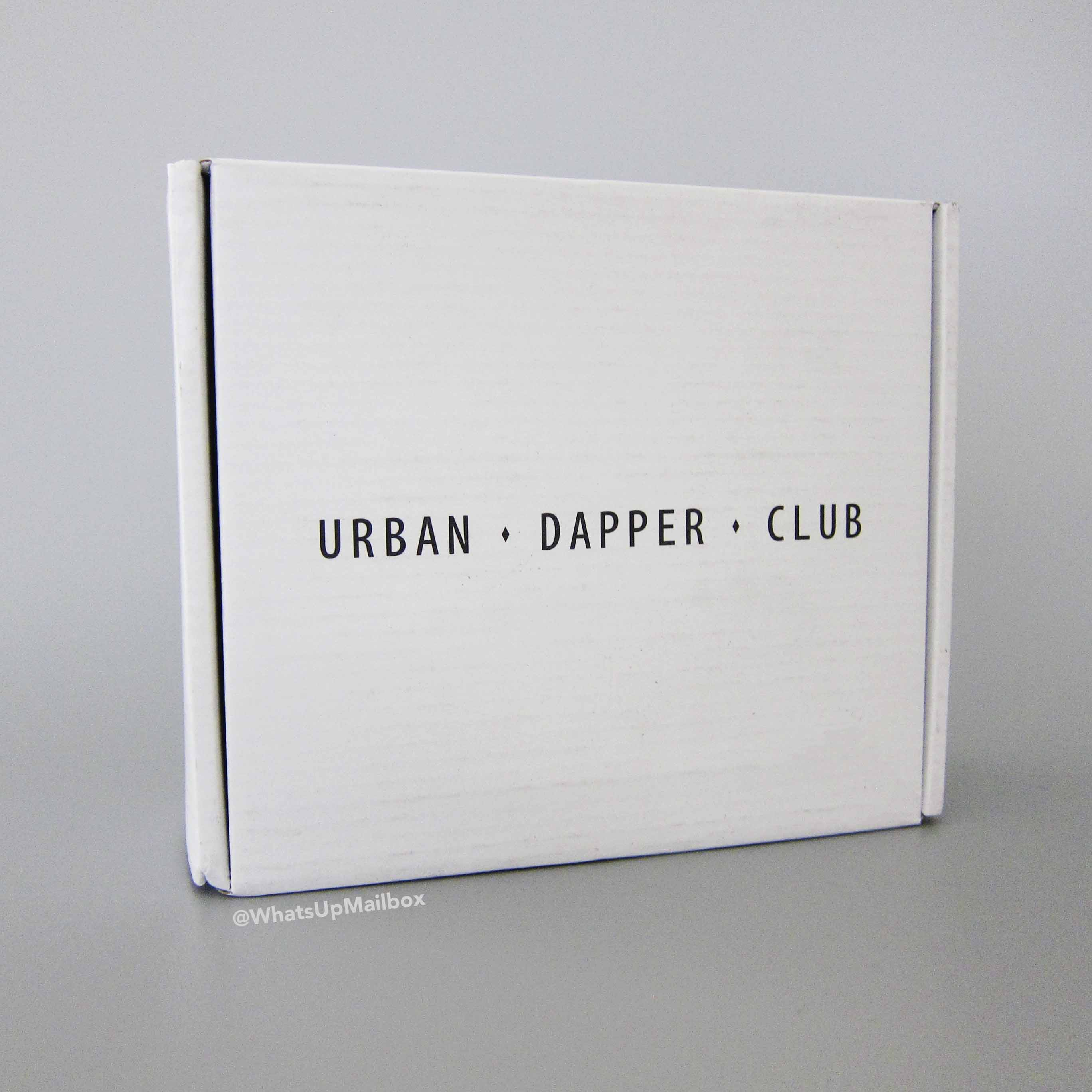 Urban Dapper Club September 2016 Box