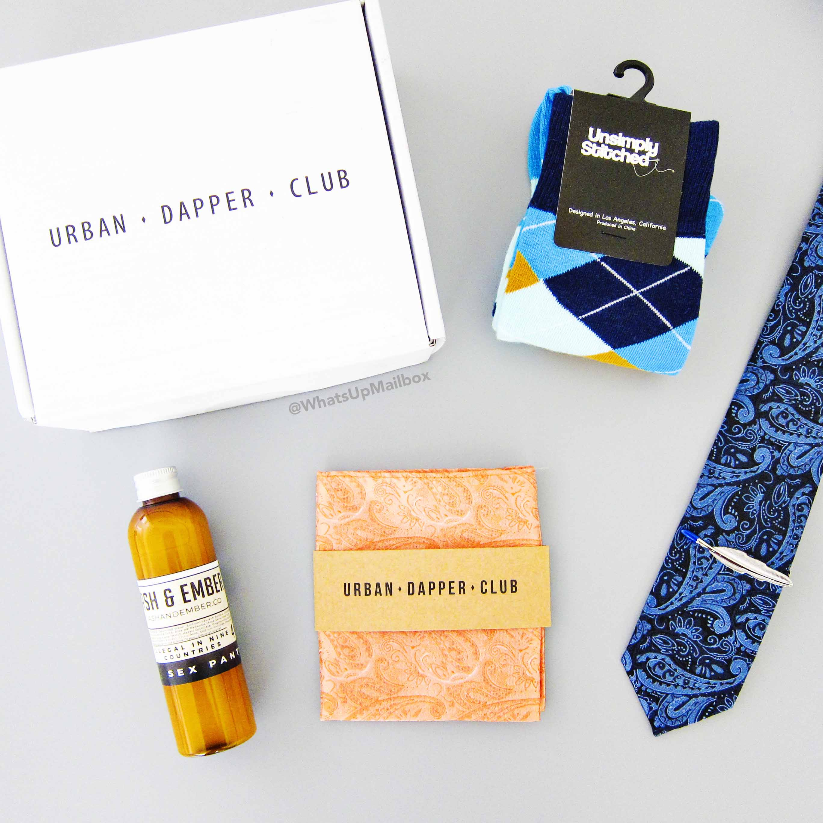 Urban Dapper Club September 2016 Items