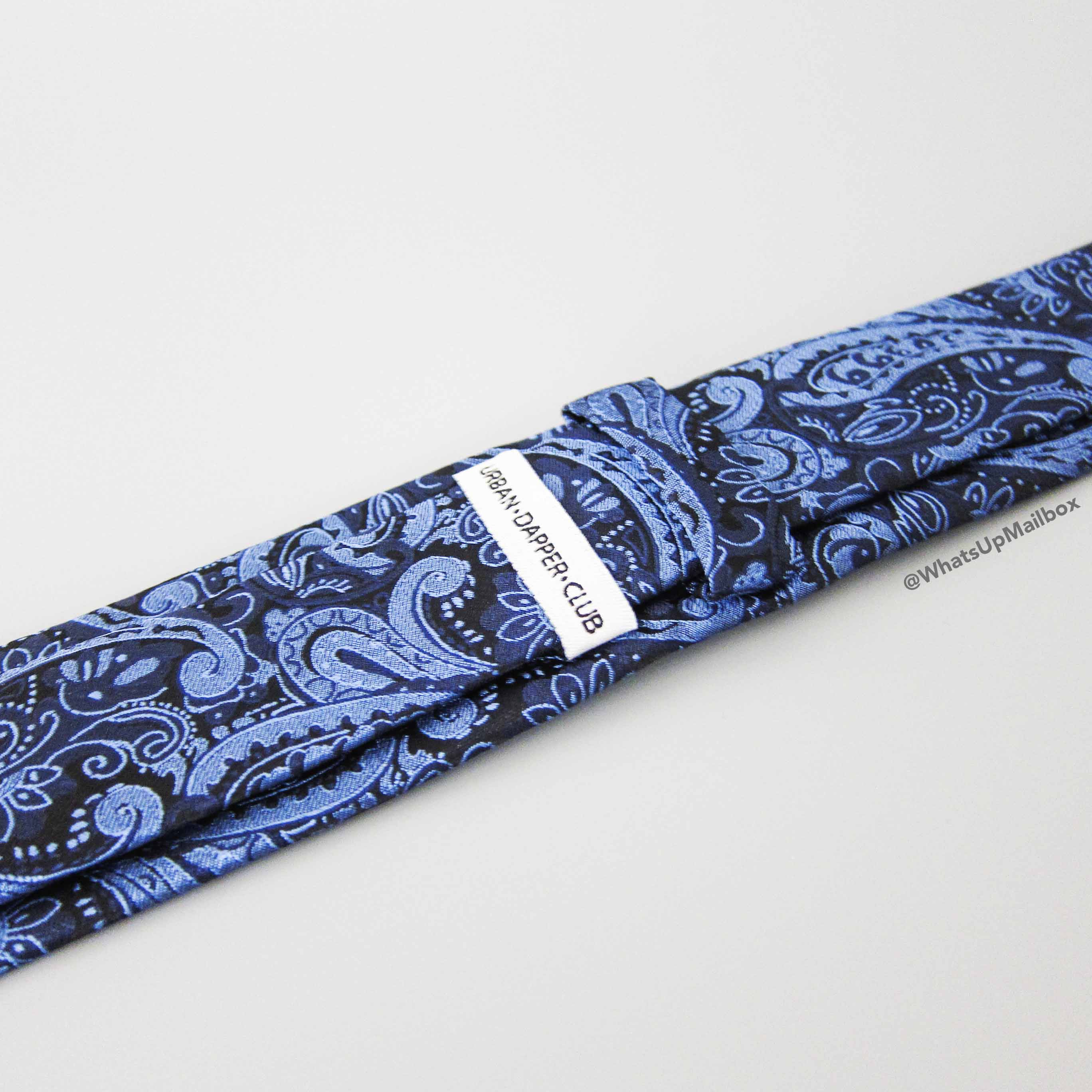 Urban Dapper Club Neck Tie