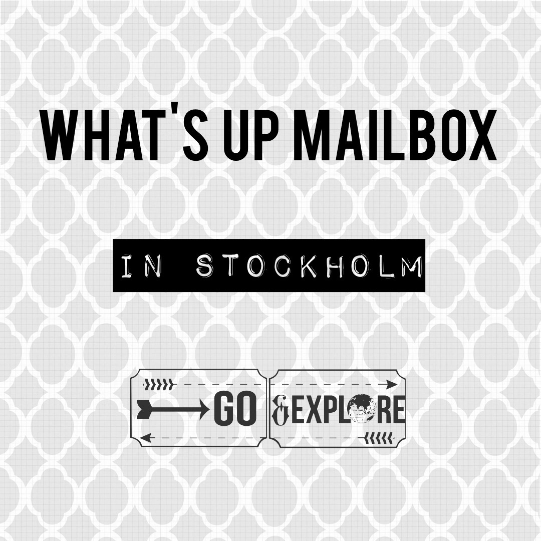 What's Up Mailbox in Stockholm!