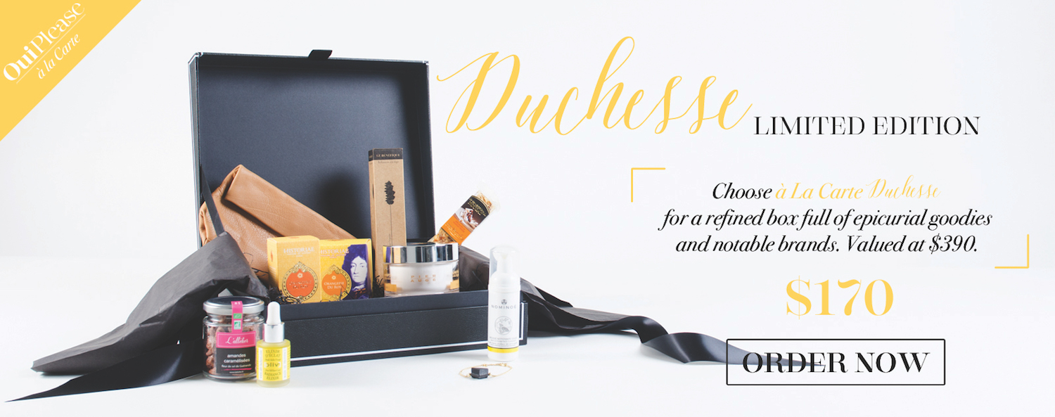 OuiPlease Duchesse Limited Edition Box